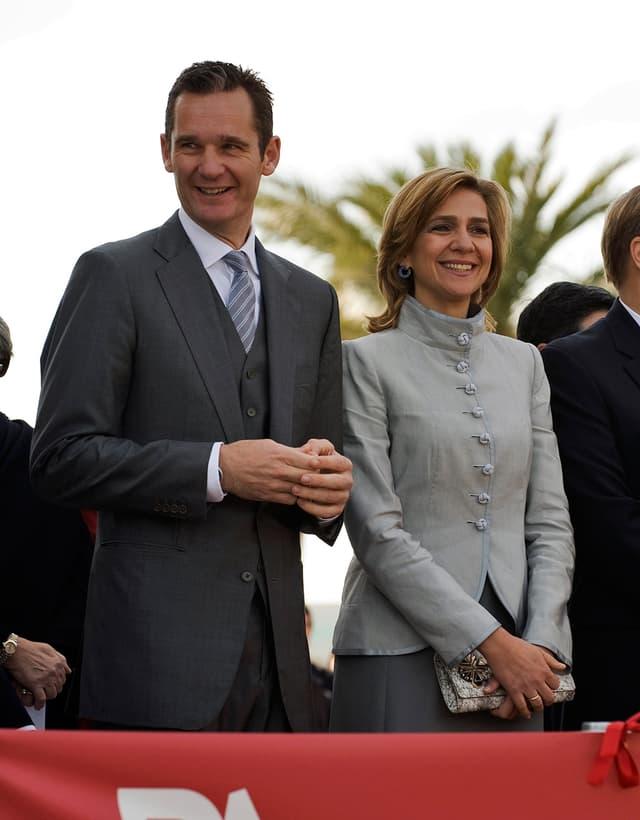 Prinzessin Cristina und Iñaki Urdangarin