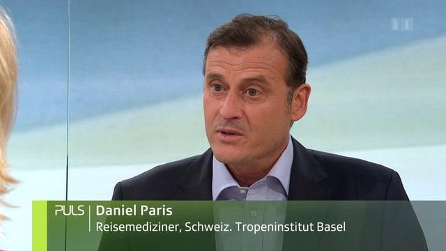Daniel Paris ist Reisemediziner des Schweizerischen Tropeninstituts