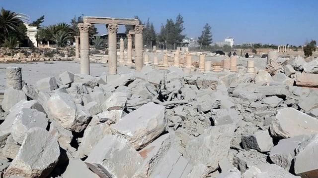 tempel destruì da palmyra
