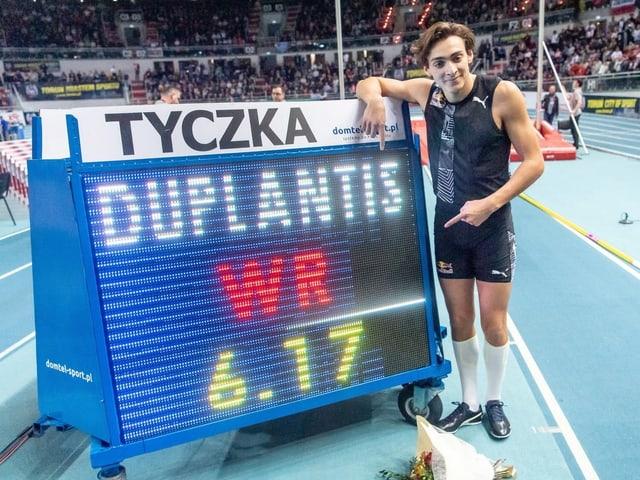 Armand Duplantis.