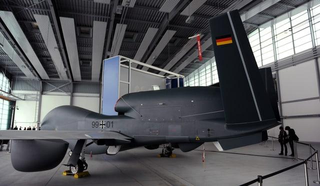Eine Drohne des Typs «Euro Hawk».