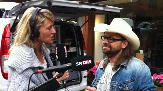 Sandra Schiess interviewt Marco Gottardi.