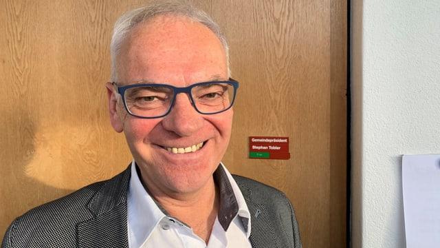 Stephan Tobler, Gemeindepräsident von Egnach, kämpft um den Erhalt seines Polizeipostens.