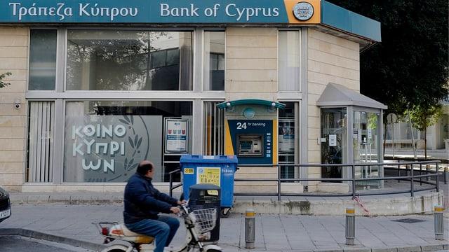 Geschlossene Bank