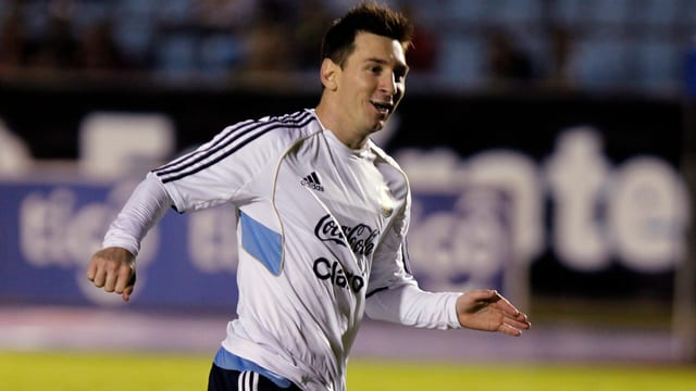 Lionel Messi erzielte gegen Guatemala 3 Tore.