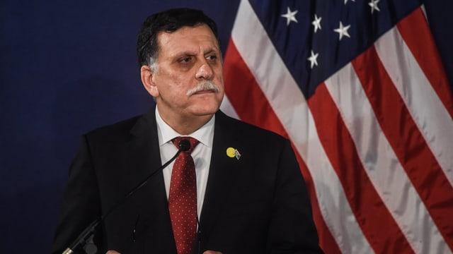 purtret dal primminister da la Libia