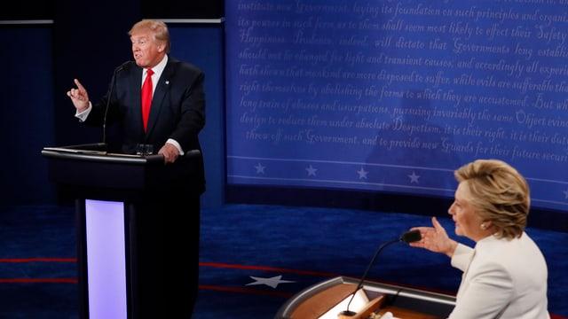 Els dus tar la terza debatta presidiala.