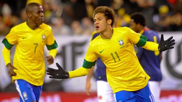 Wir Brasiliens Superstar Neymar auch die Schweizer Fans entzücken?