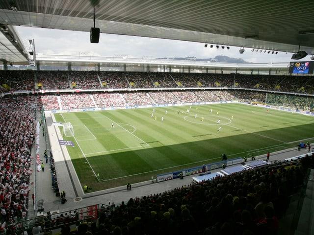 Das Stade de Suisse in Bern.