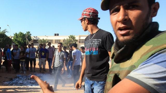 Conflicts en Libia.