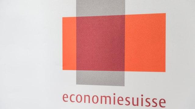 Logo da Economiesuisse.