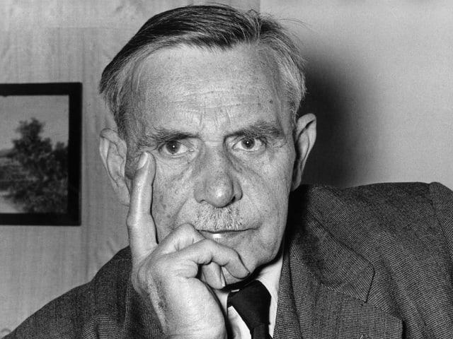 Der Komponist Othmar Schoeck.