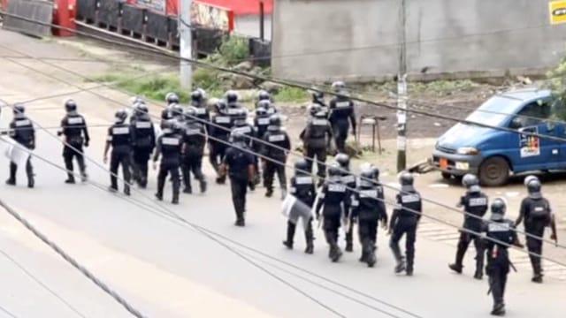 Polizei in Buea