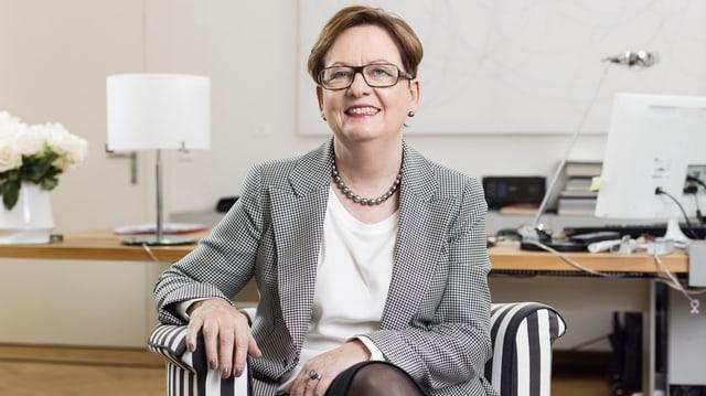 Dal 2008 fin il 2015 è Corina Casanova stada chanceliera federala.