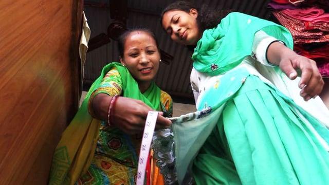Video «Lok Kumari verdient jetzt ihr eigenes Geld» abspielen