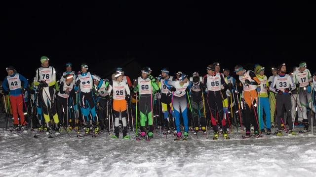 Il start da la segunda cursa dals trais retgs en Val Müstair.