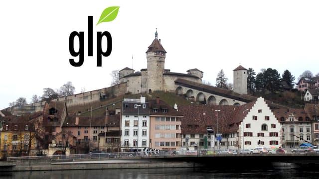 Munot mit GLP-Logo.