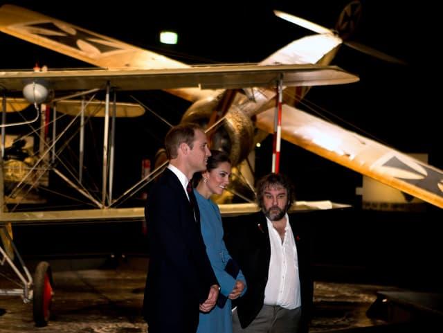 Prinz William, Kate und Sir Peter Jackson