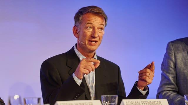 Adrian Pfenniger, CEO Trisa.