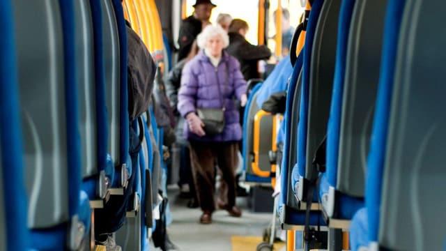Buspassagier