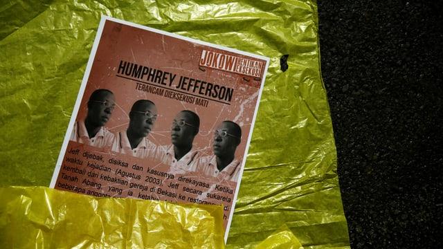 Erschossen trotz Geständnis eines anderen: Der Nigerianer Humphrey Jefferson sass 12 Jahre in der Todeszelle.