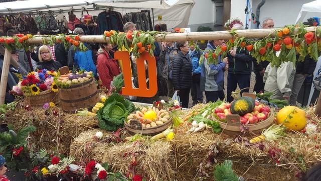 Festa da racolta en Val Müstair.