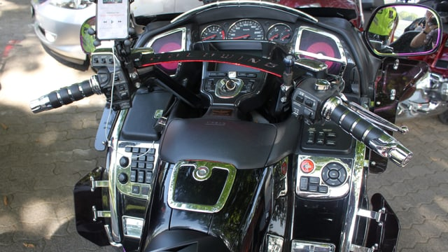 Cockpit einer Goldwing