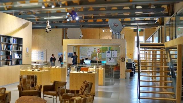 Büroräumlichkeiten Meteogroup in Appenzell