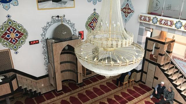 Il maletg mussa la moschea da surengiu