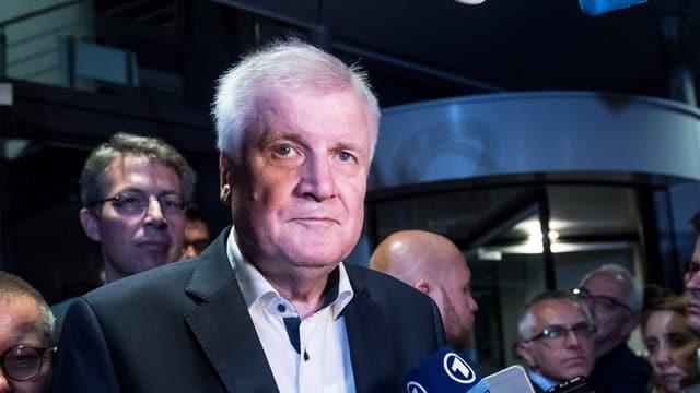 Horst Seehofer, il minister da l'intern e schef da la CSU.