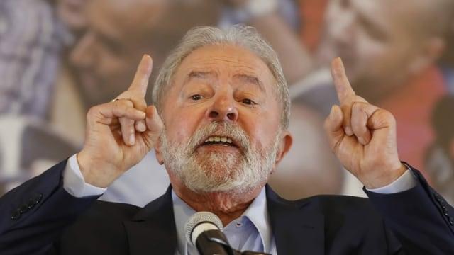 Der ehemalige brasilianische Staatspräsident Luiz Inácio Lula da Silva hat seine politischen Rechte zurückbekommen.