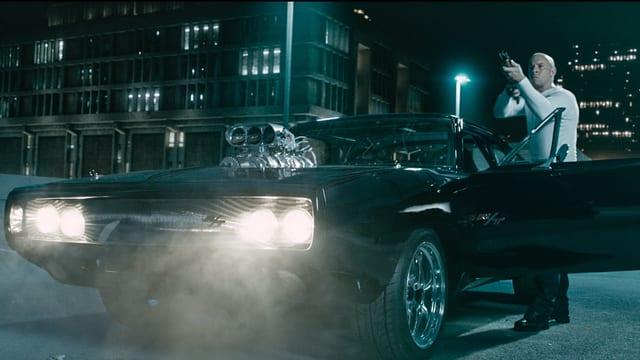 Vin Diesel und ein Auto