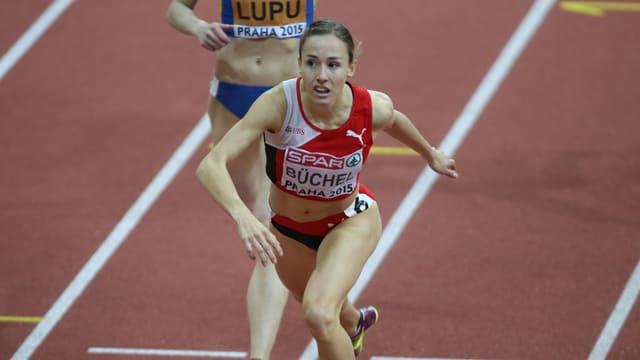 Selina Büchel (hier an der Hallen-EM in Prag).