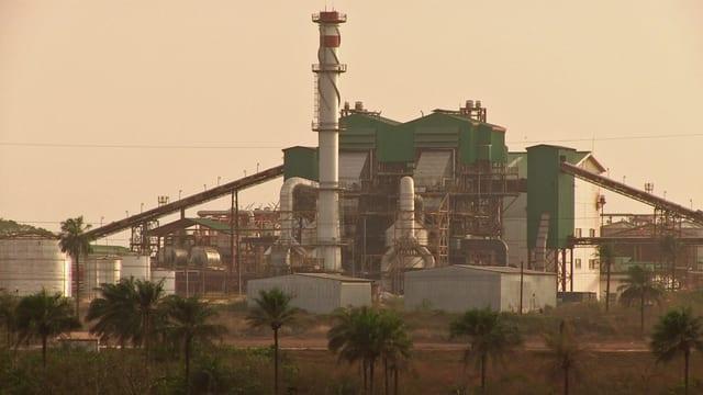 Raffinerie der Firma Addax Bioenergy in Sierra Leone.
