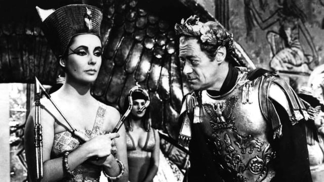 Elizabeth Taylor im FIlm «Cleopatra».