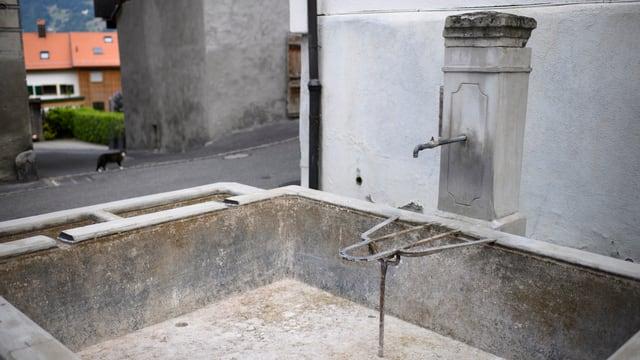 Brunnen ohne Wasser