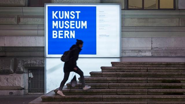 L'entrada dal museum d'art a Berna