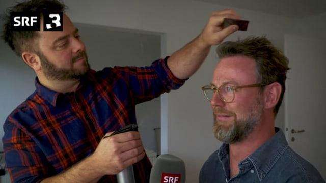 Nik Hartmann (rechts) und Marco Thomann haben die Dreharbeiten zum neuen Schweizer Spielfilm «Platzspitzbaby» begleitet.