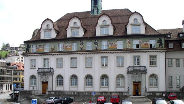 Das Regierungsgebäude in Herisau.