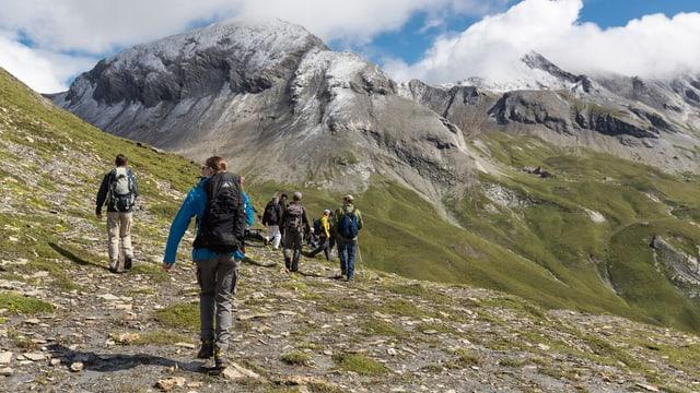 Exkursion von Pro Natura im Kanton Graubünden