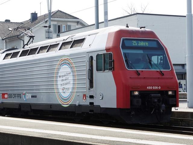 Silberne Jubiläums-Lokomotive des ZVV