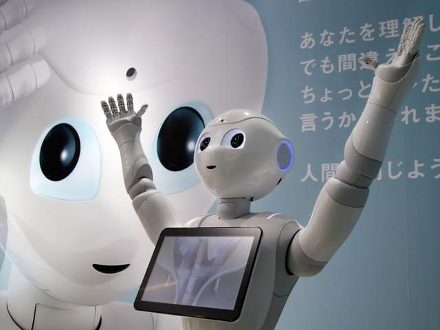 Der Roboter «Pepper».
