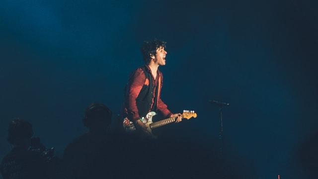 Billie Joe Armstrong elektrisierte mit seinen Green Day das Publikum am Greenfield-Festival (2017)