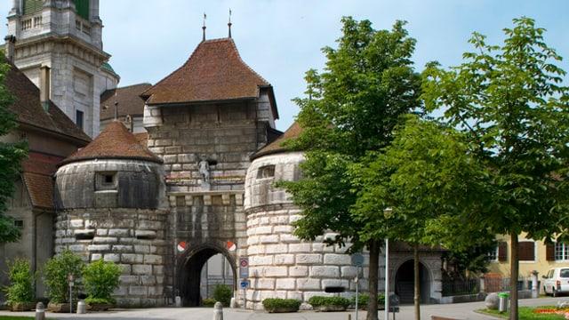 Das Baseltor in Solothurn.