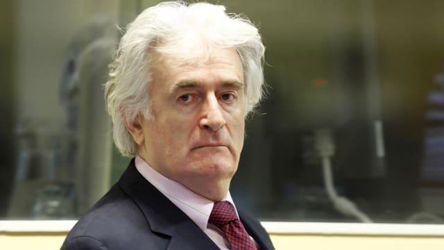 Karadzic vor Gericht.