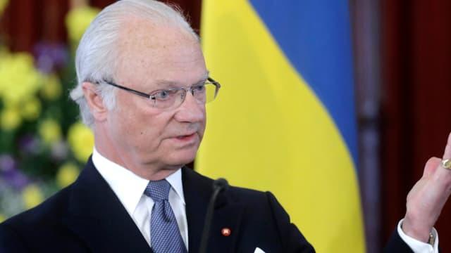 König Carl Gustaf von Schweden.