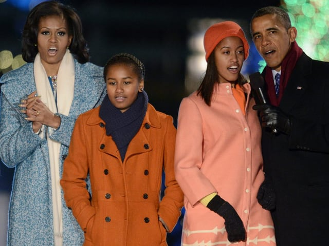 Die Familie Obama