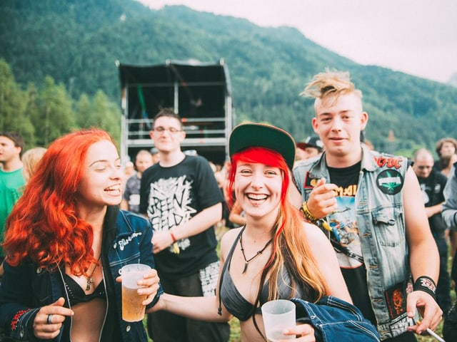 (und Bier) machen glücklich. #generationfestival