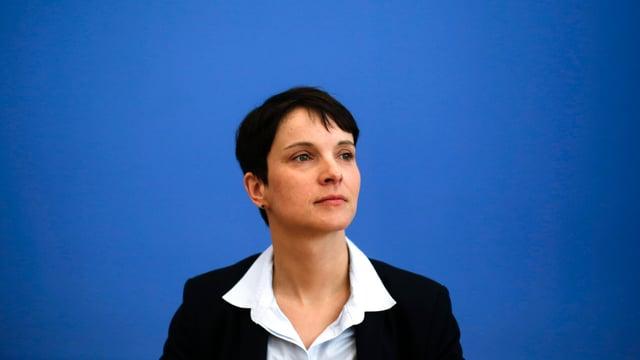 Zu sehen ist AfD-Chefin Frauke Petry.