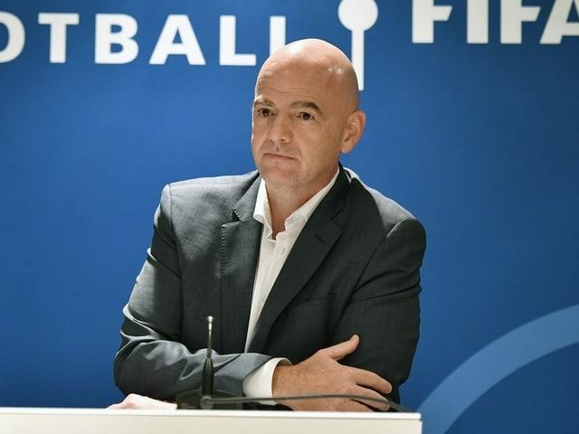 Fifa-Präsident Gianni Infantino.